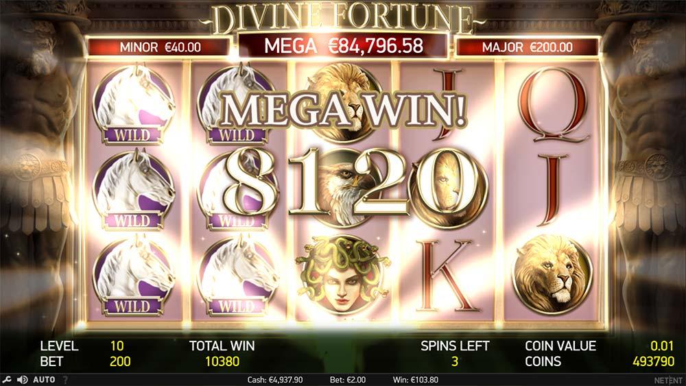 divine fortune slot ingame