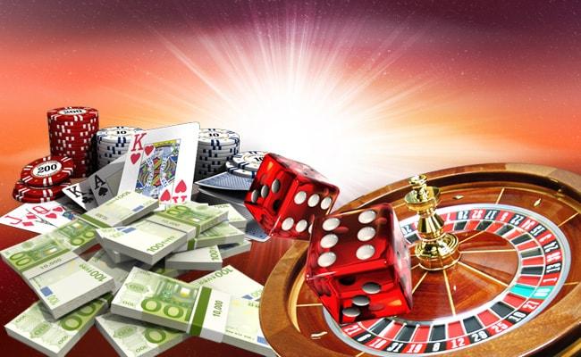 Casino Match Bonus Cards, Chips And Money
