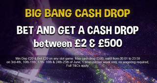 Big Bang Cash Drop